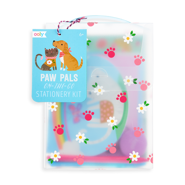 On-The-Go Travel Stationery Kit - Paw Pals