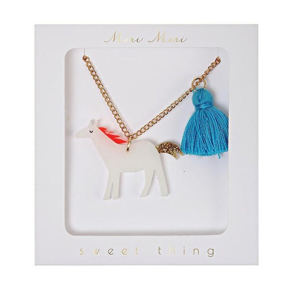 Horse Tassel Necklace
