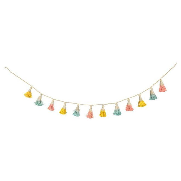 Dipped Tassel Garland