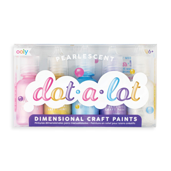 Dot-A-Lot Dot Craft Paint - Pearlescent
