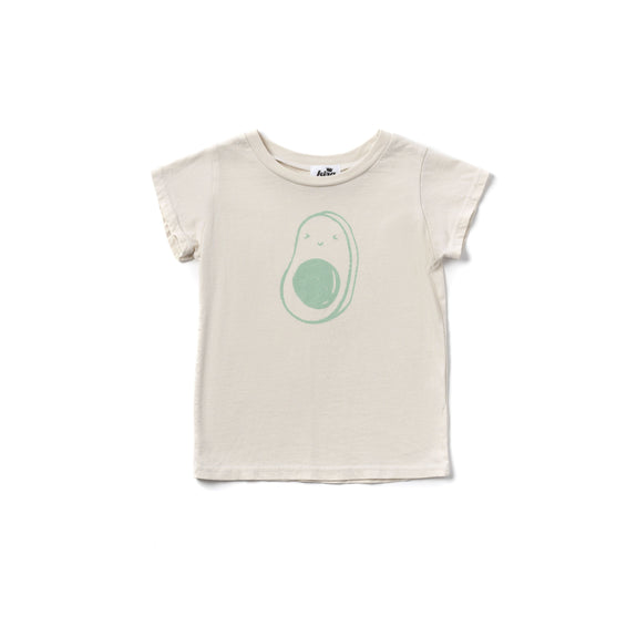 Kira Avocado Tee Natural