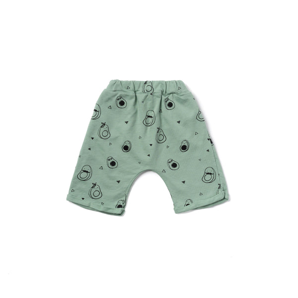 Kira Avocado Lounge Shorts Celadon