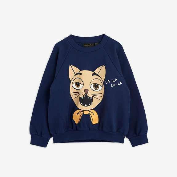 Cat Choir Sweatshirt (Navy)