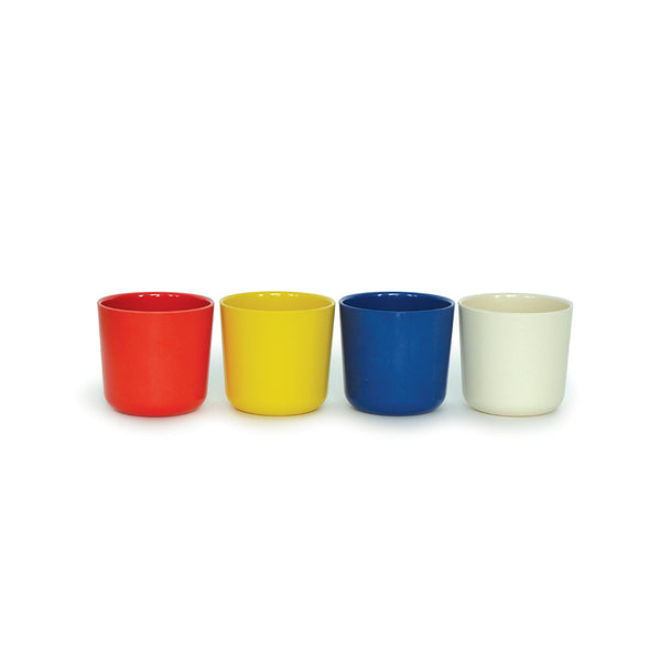 Bambino Small 8oz. Cup Set (Lemon/Tomato/Royal Blue)