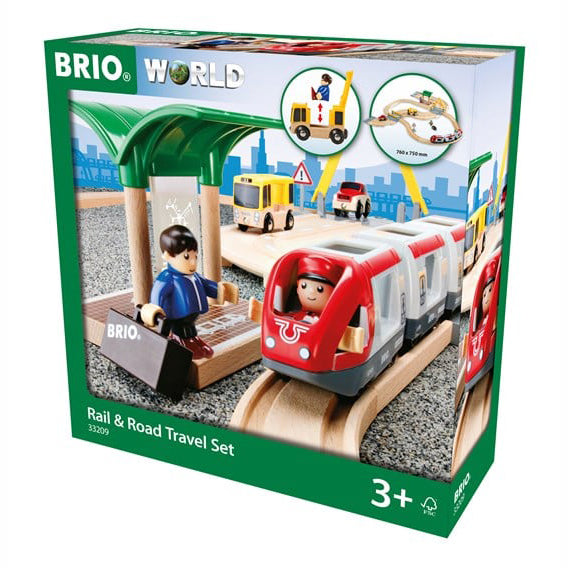 Rail & Road Travel Set
