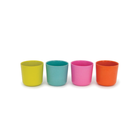 Bambino Small 8oz. Cup Set (Lagoon/Persimmon/Rose/Lime)