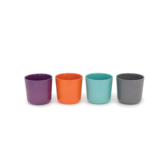 Bambino Small 8oz. Cup Set (Lagoon/Persimmon/Prune)