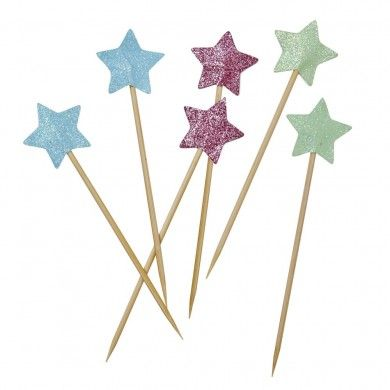 Party Sticks - Glitter Stars