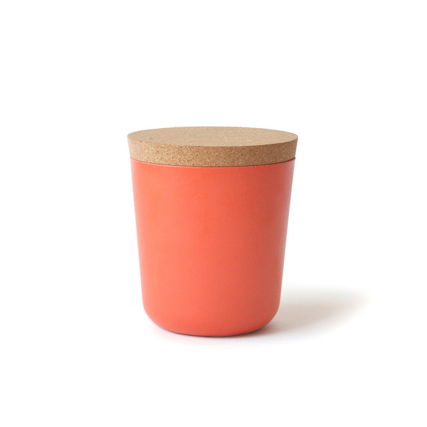 Claro XL 25oz. Storage Jar Persimmon