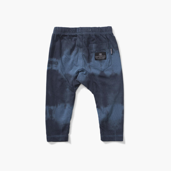 3 Spills Pants Blue Dye