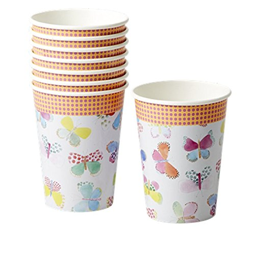 8 Paper Cups Butterfly