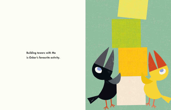 Oskar And Mo by Britta Teckentrup