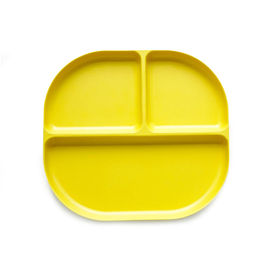 Bambino Divided Tray Lemon