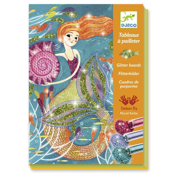 Mermaids Glitter Board