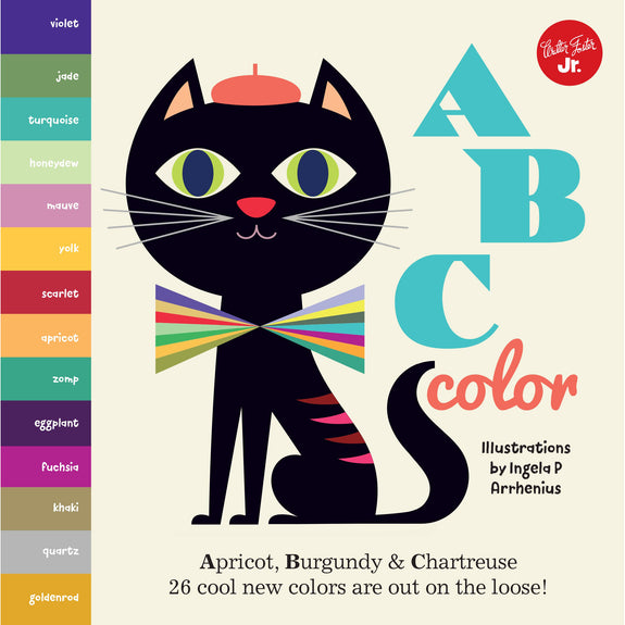 ABC Color: Apricot, Burgundy & Chartreuse Board Book