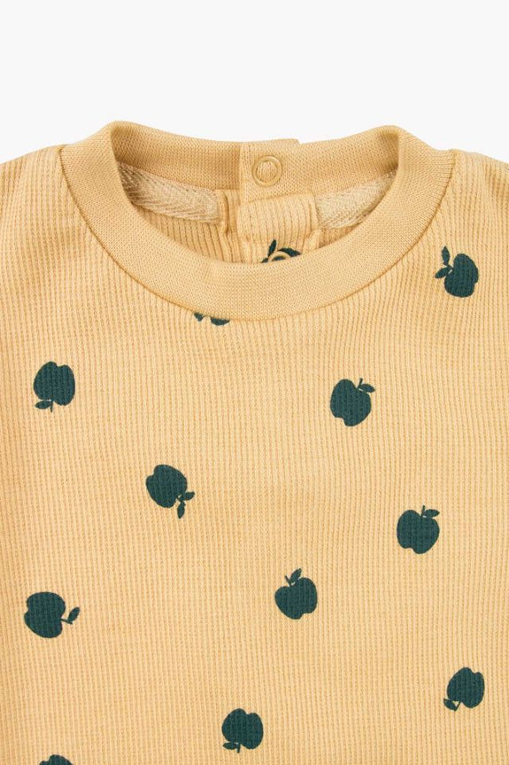 Small Apples LS Body Sand/Green