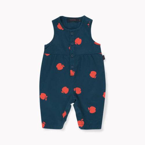 Apples One Piece Navy/Burgundy