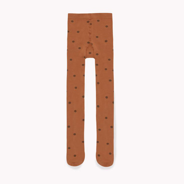 Dots Tights Brown/DrkBrown
