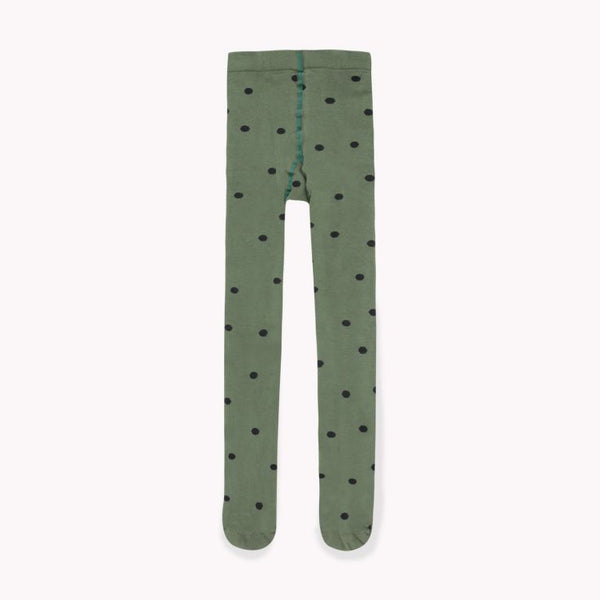 Dots Tights Green/Black
