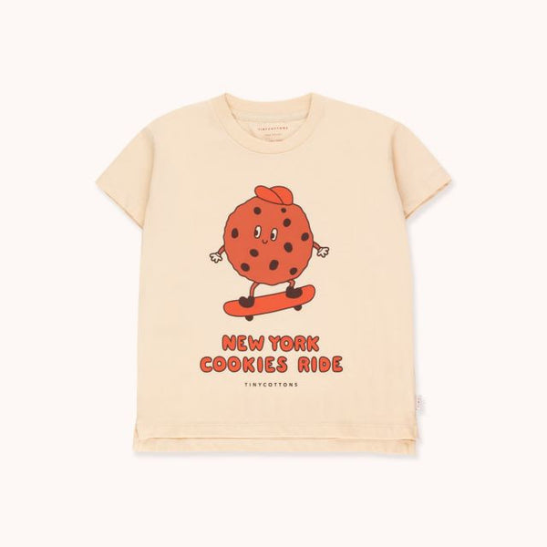 Cookie Ride Tee Cream Brown
