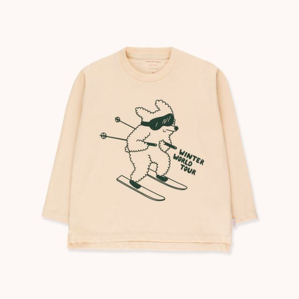 Skiing Dog Tee