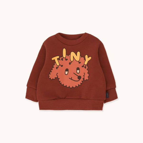 Tiny Dog Sweatshirt Dark Brown Sienna