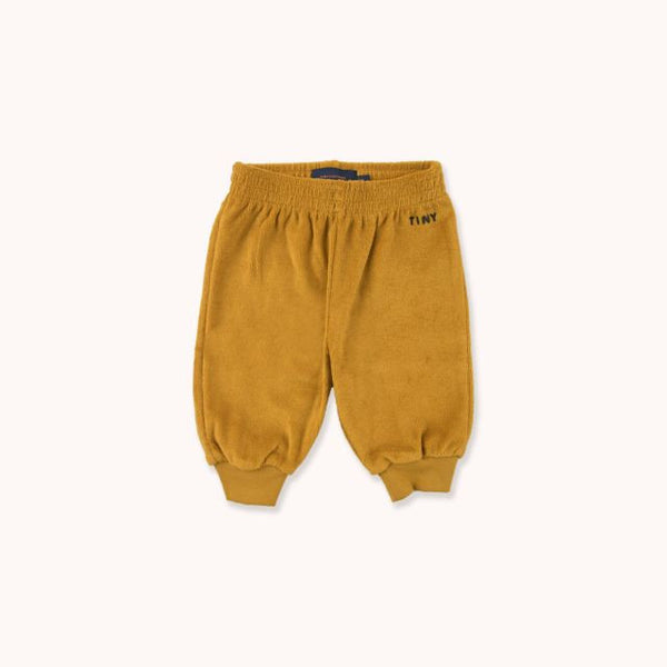 Tiny Sweatpant Mustard Navy
