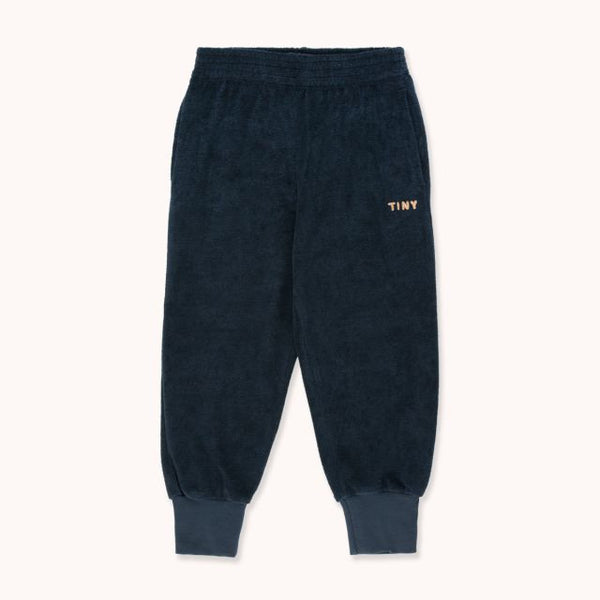 Tiny Sweatpant Navy Camel