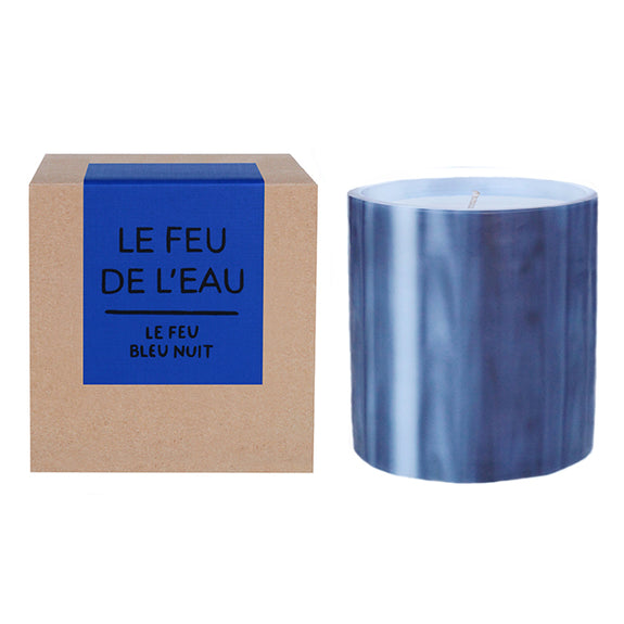 Le Feu Bleu Nuit Candle (Black & Red Currant)