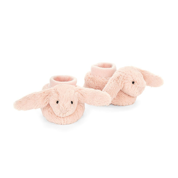 Bashful Bunny Booties Blush