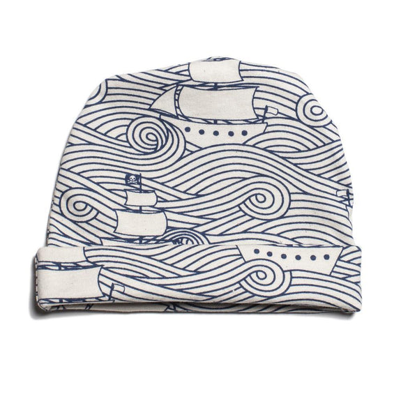 Baby Hat High Seas Navy