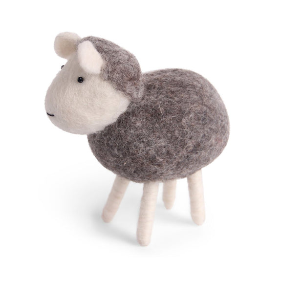 Big Felt Sheep - Grey