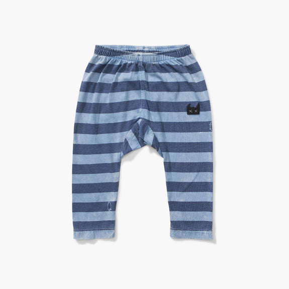Blue Lines Pants Washed Blue