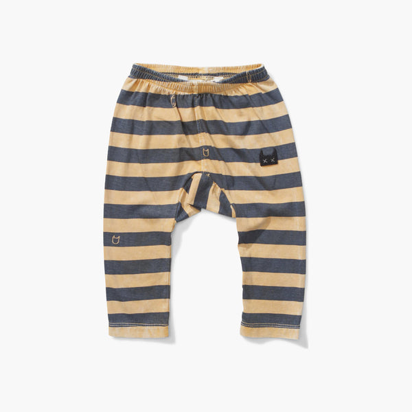 Blue Lines Pants Mustard