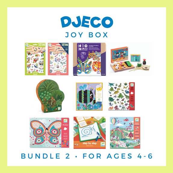 Joy Box Bundle 2 (for ages 4 to 6)