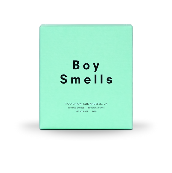 Boy Smells Candle Angelica