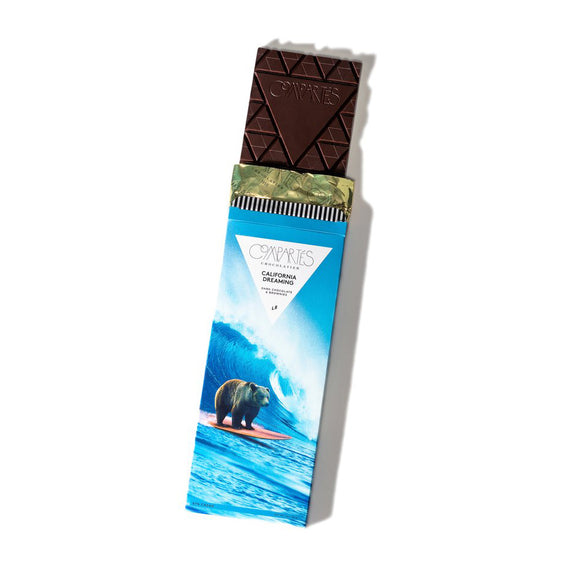 California Dreaming Dark Chocolate Bar