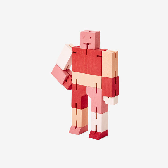 Cubebot Small - Multi Red