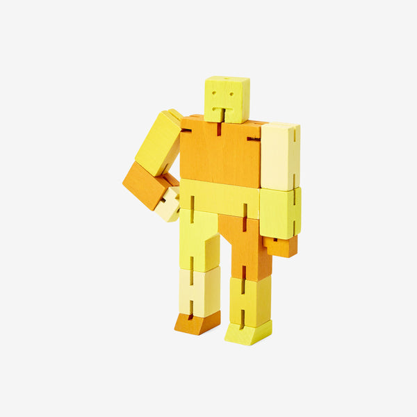 Cubebot Small - Multi Yellow