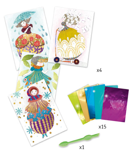 So Pretty! Foil Pictures Set