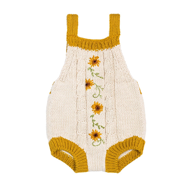 Sunflower Bodysuit - Mustard