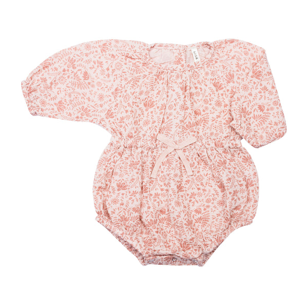 Bubble Playsuit - Rosebloom