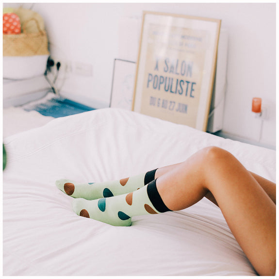 Fruit Socks Avocado