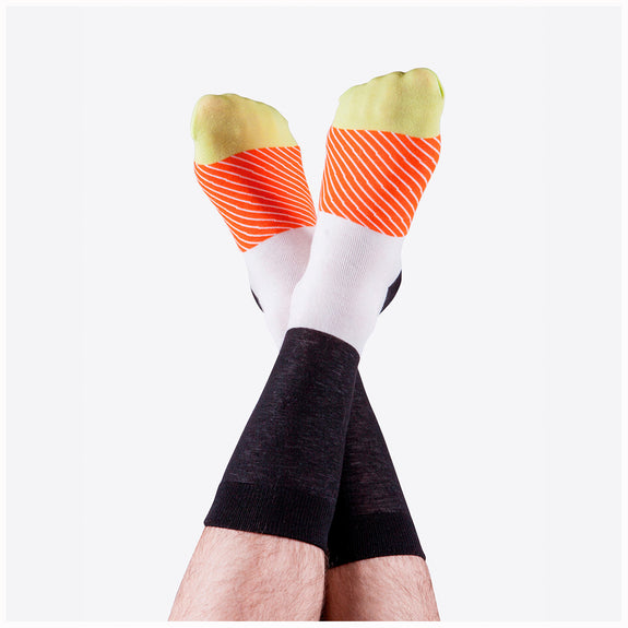 Sushi Socks Salmon Lovers