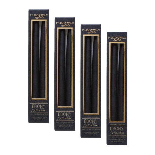 Taper Candles Box - Ebony