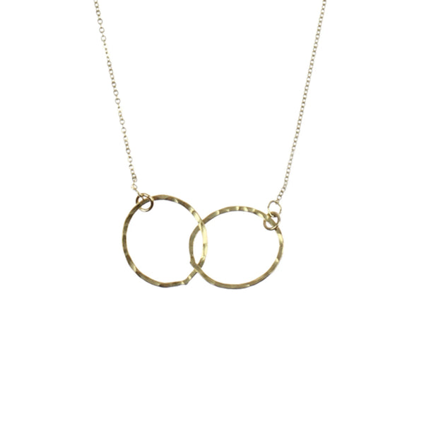 Eternity Hoop Necklace