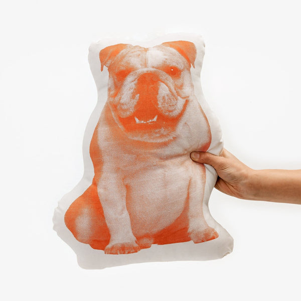 Fauna Pillow - English Bulldog
