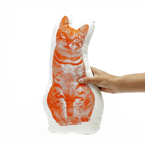 Fauna Pillow – Tabby Cat