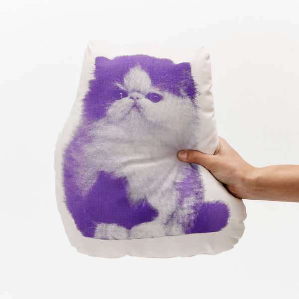 Fauna Pillow Persian Cat
