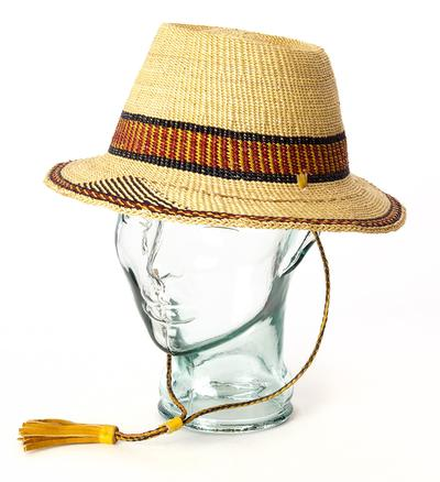 Ghanaian Short Brimmed Hat - Adult